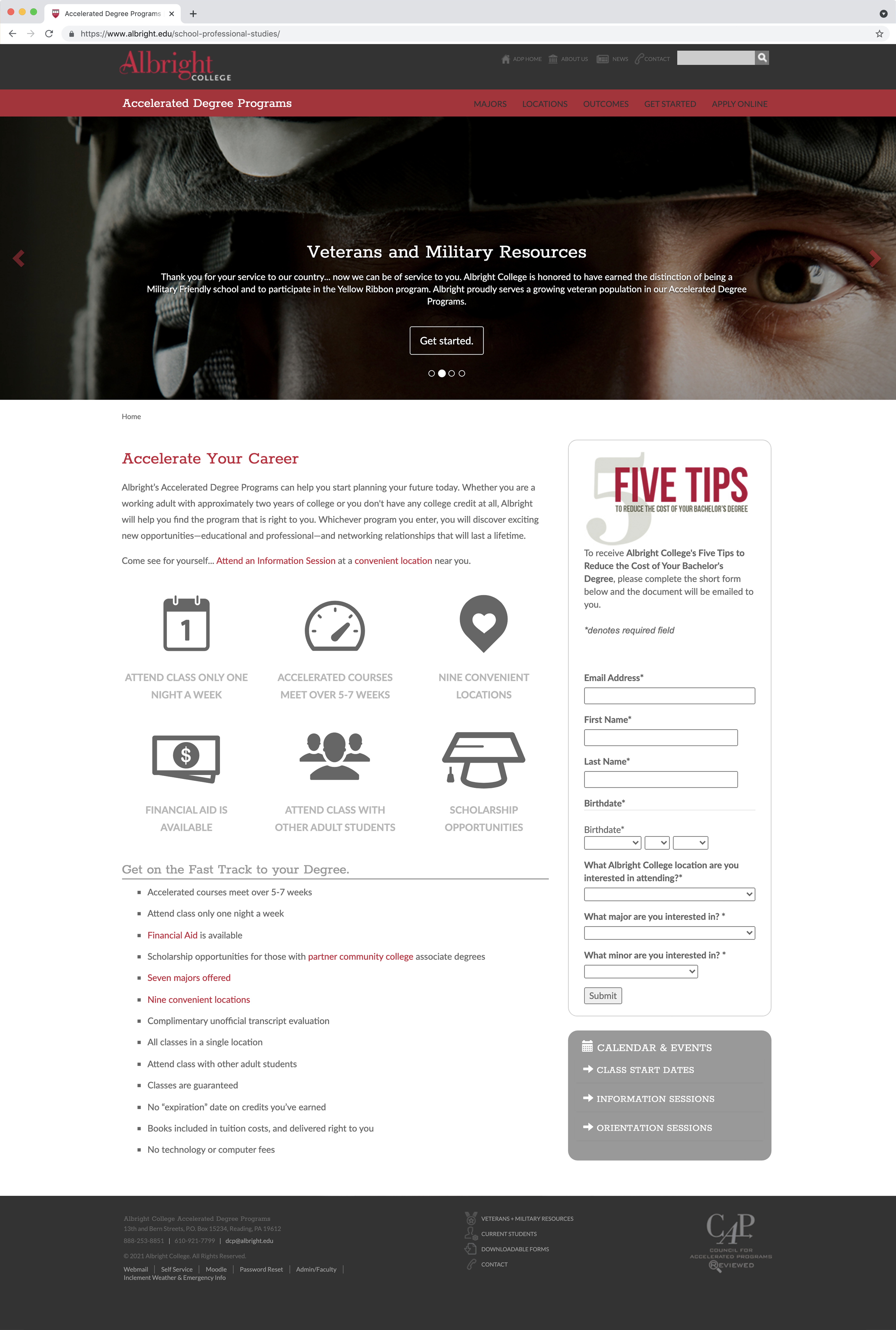 Albright College ADP Home Page