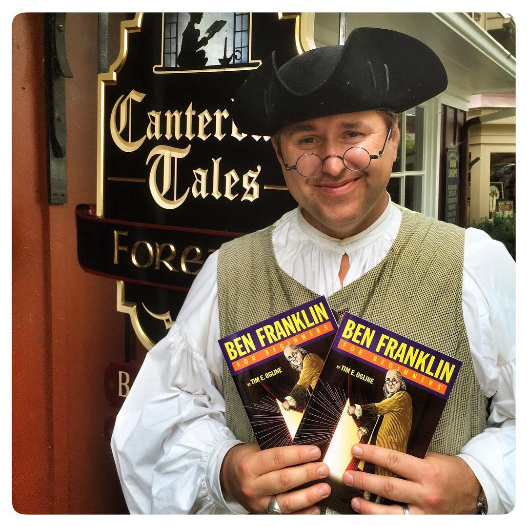 Tim Ogline at Canterbury Tales